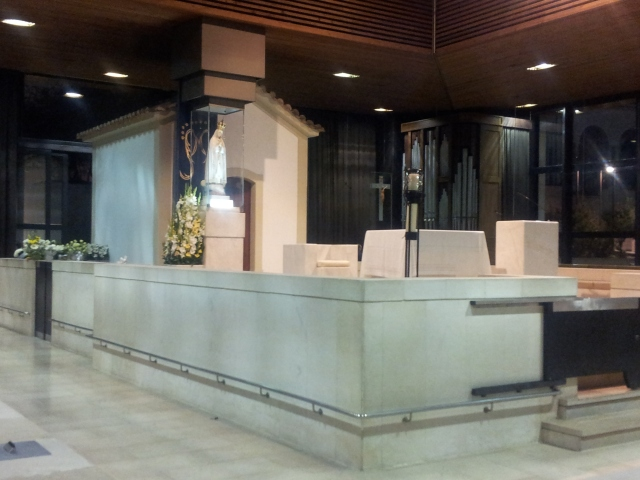 Our Lady of Fatima apparition site.