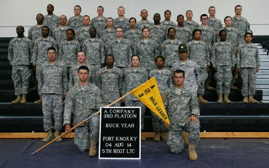 Third Platoon, Alpha Company - Ft. Knox 2014