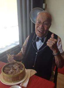 Second Lieutenant Eugenio Palileo, Bataan Death March Survivor (Alive & kicking, still eating like a champ today)